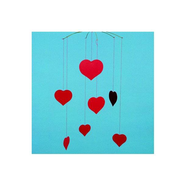 Hjertemobile- Valentine