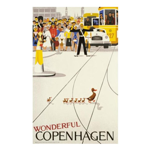 Wonderful Copenhagen (plakat / illustration)
