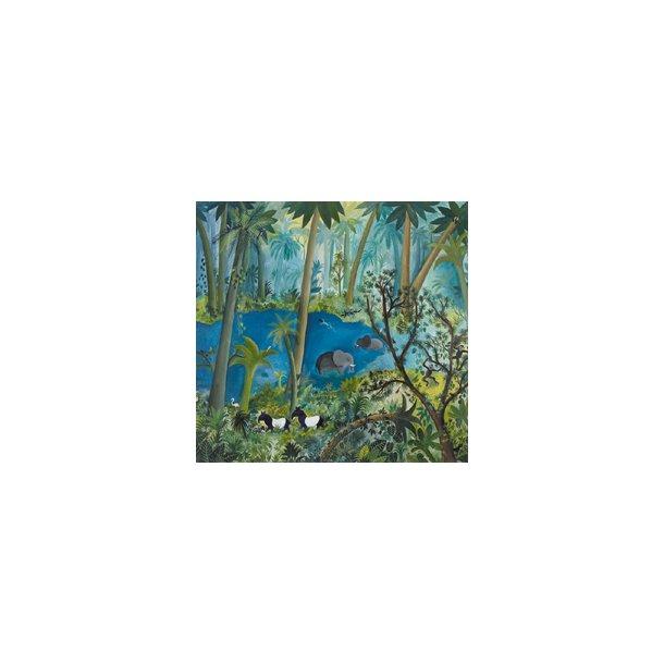 Urskov (Jungle) (Hans Scherfig plakat)