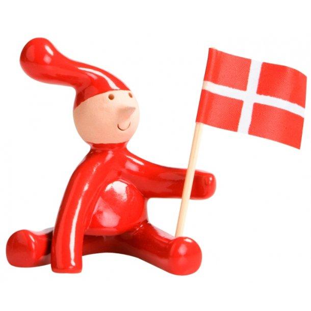 Pixy med det danske flag 2010 by PixyCo (Bo Melander)