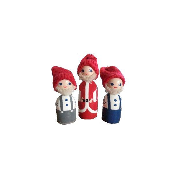 Julemanden og hans hjælpere fra Anne Beate Design