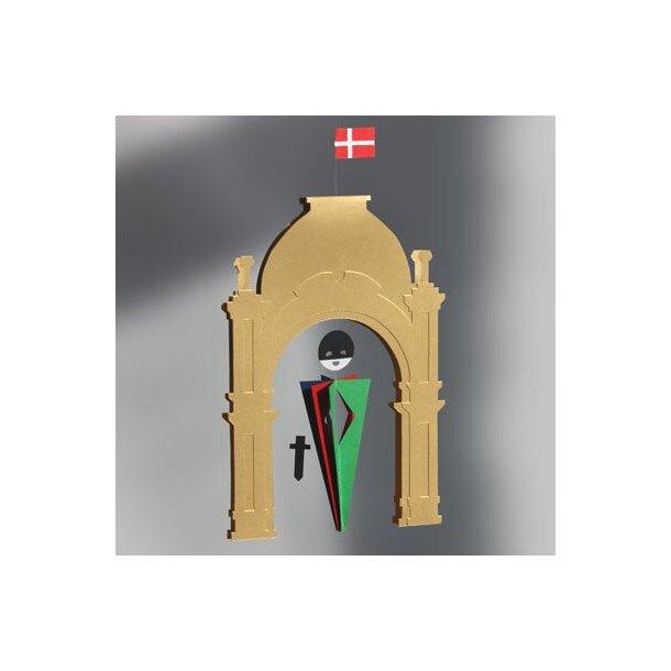 Tivoli's Hovedindgang med Harlekin