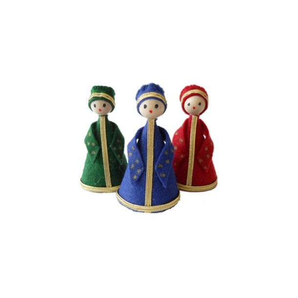 De hellige tre konger i filt